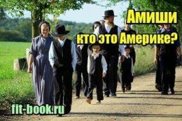 Изображение Амиши – кто это Америке