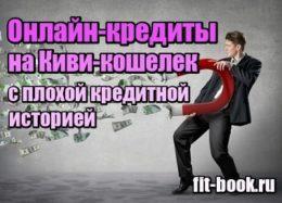 Фотография Онлайн кредиты на Киви кошелек с плохой кредитной историей