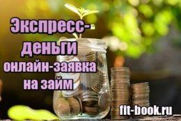 Картинка Экспресс деньги онлайн заявка на займ