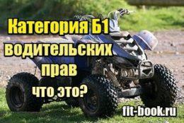Фото Категория Б1 водительских прав – что это