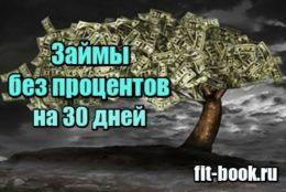 Миниатюра Займы без процентов: на 30 дней